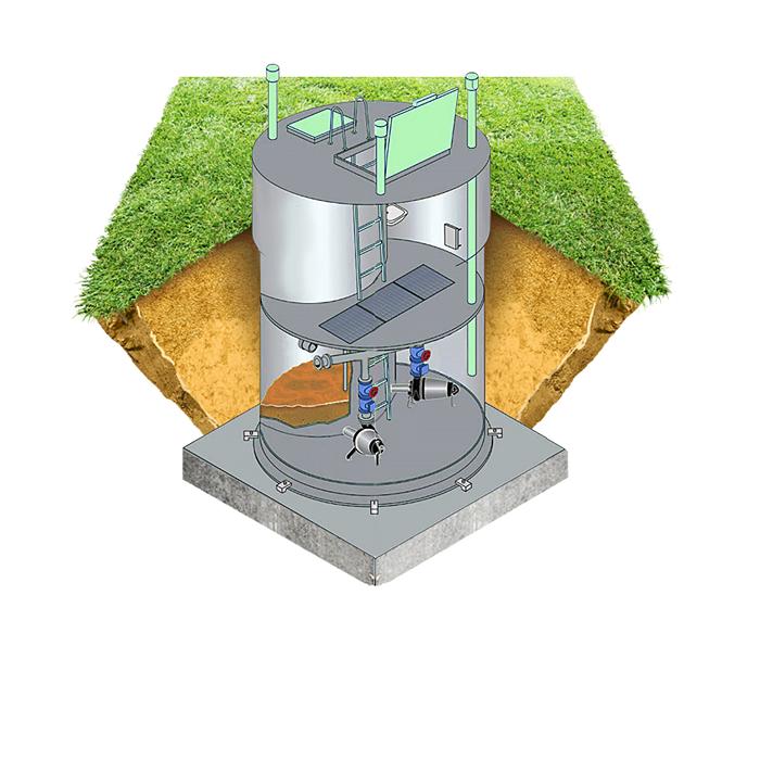 Преимущества канализационных насосных станций из полиэтилена